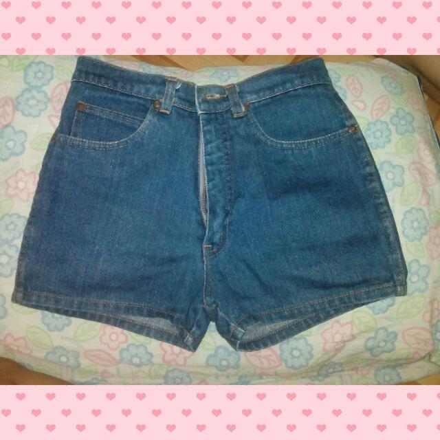 Preloved_ Denim High Waist Shorts