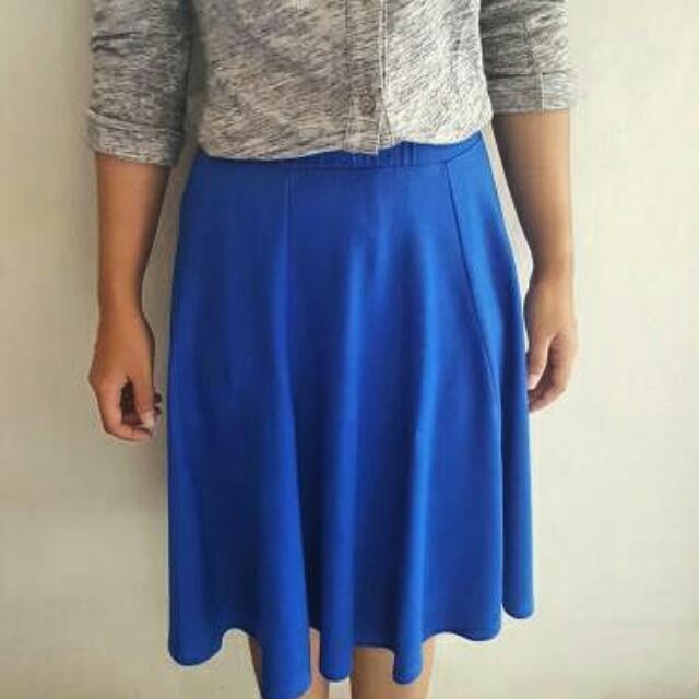 Preloved Blue Skirt