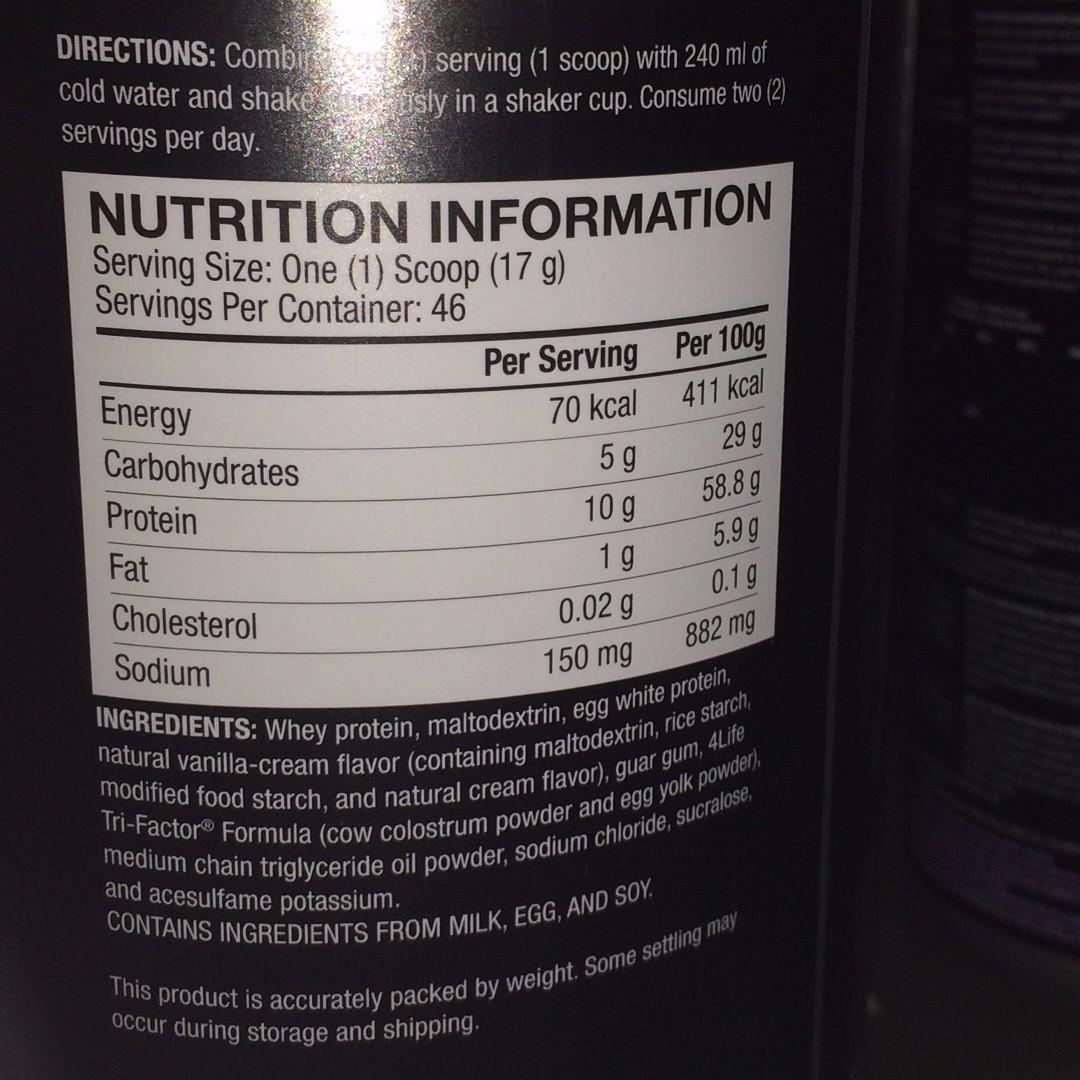PRO-TF® Vanilla Cream | Protein Shake / Supplement