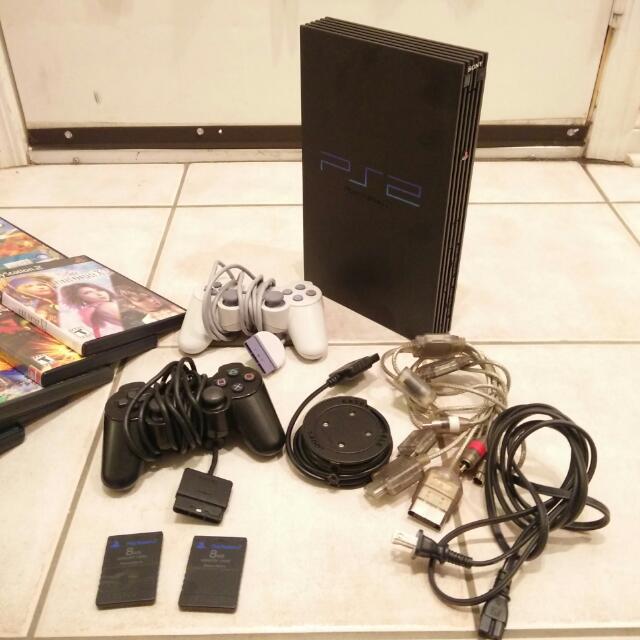 PS2 Bundle & Games & Accessories