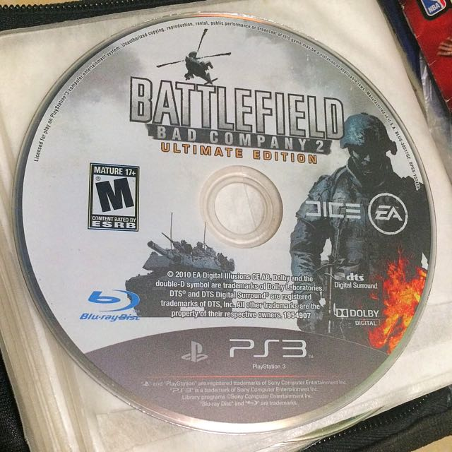 PS3 Battlefield Bad Company 2 Game