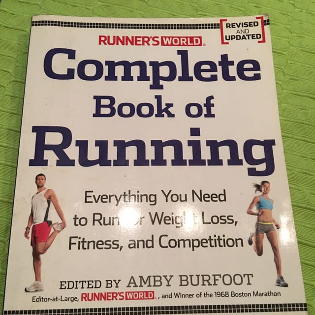 Runner's World The Complete Book Of Running
