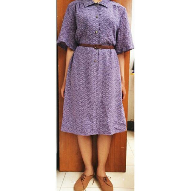 SALE 20%! PURPLE DRESS