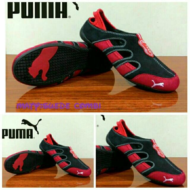 Sepatu Puma Red