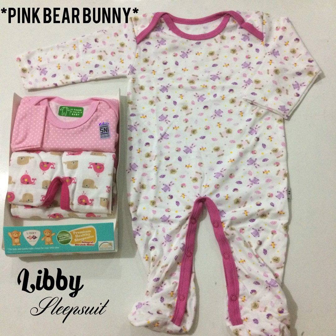 010d97f5f Sleepsuit Set (3pcs) 6-9 Months Baby Girl Sleepsuit High Quality ...