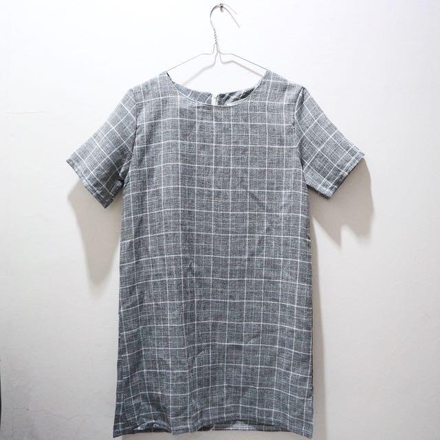 Squares Mini Dress
