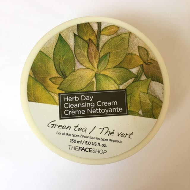 The Face Shop Cleansing Cream (Green Tea)