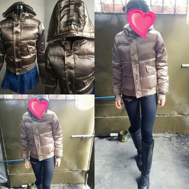 Trench Coat Bubble Jacket