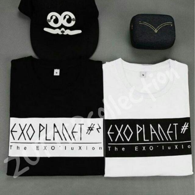 Tshirt Exo Planet