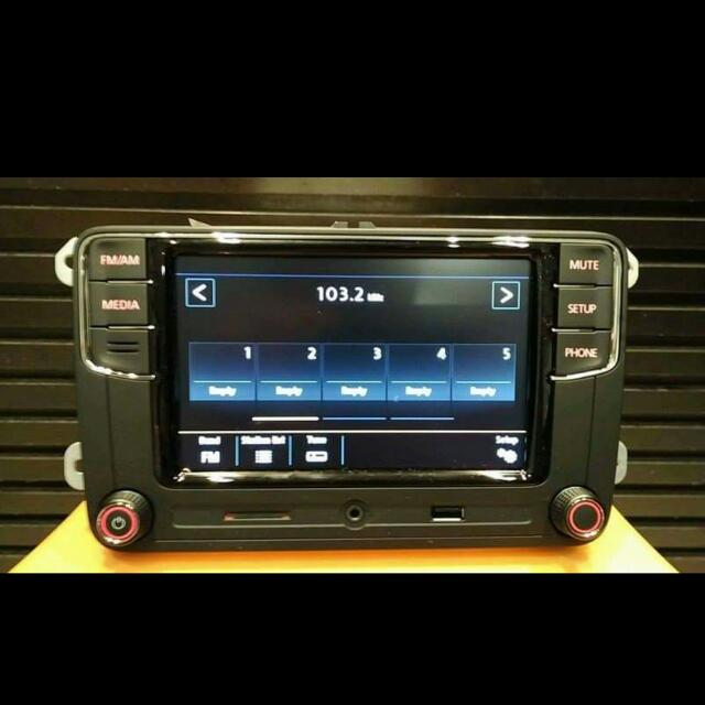 Volkswagen Rcd330 Headunit For Most Vw Models Car Accessories On
