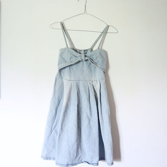 Washed Jeans Dress