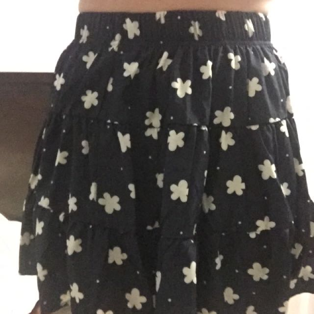 Women Flowery Skirt