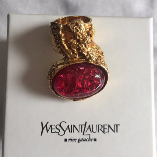 YSL Arty limited edition love ring