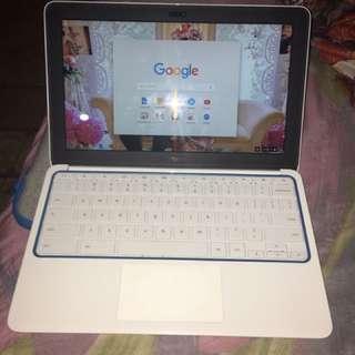 HP Chromebook White