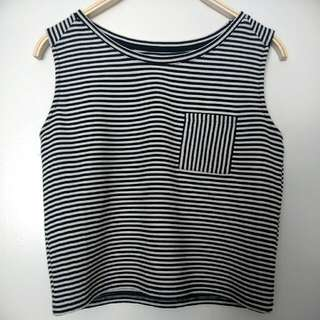 Cotton Crop Top Size S/M
