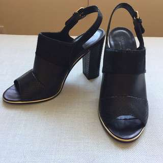 Club Monaco Leather Mules Size 40
