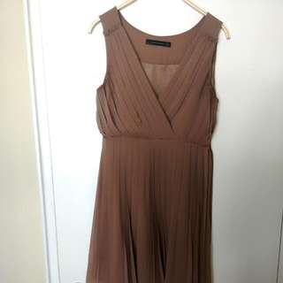 Zara Pleated Dress S