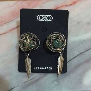 全新 韓系飾品 耳環 僅拆封拍照