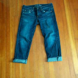 American Eagle Jeans Crop Boy Fit