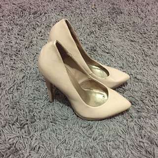 Call It Spring Beige Pumps