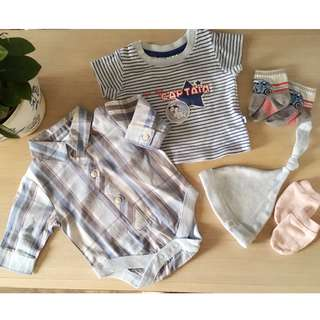 Next Newborn Long Sleeve Romper