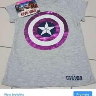 Marvel captain America Tshirt