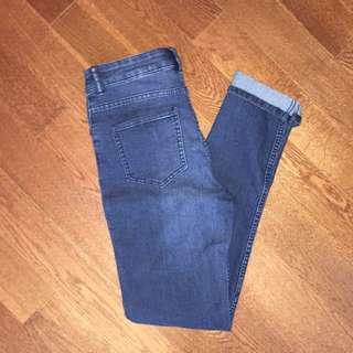 H&M High Rise Skinny Jeans