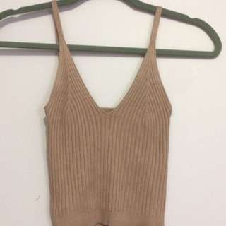 NWT Urban Behaviour Knit Tank Top