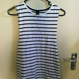 AS Colour Striped Singlet - Size 8