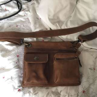 Roots Tribe Over Shoulder Bag