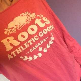 Pink Roots Long Sleeve Shirt XL