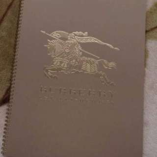 Burberry EQUESTRIAN KNIGHT A3 NOTEBOOK