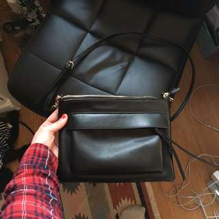 Forever 21 Black Side Purse