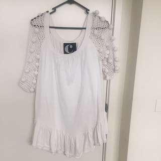 Pompom Dress/top