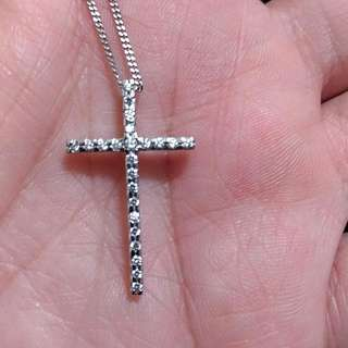 正14K金十字架項鍊