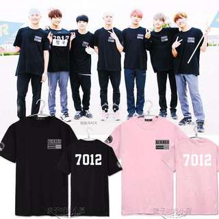 BTS & RUNNING MAN 7012 TEE