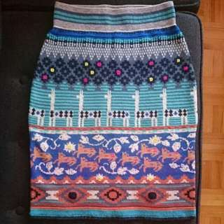 New Anthropologie Sweater Skirt