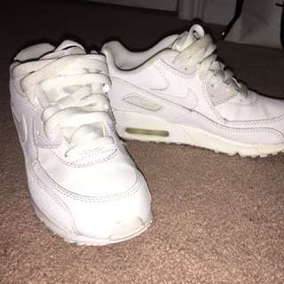 PRICE DROP✨✨All White Nike Air Max