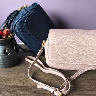 Sling Bag With Flap