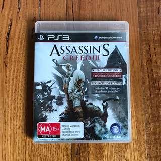 Assasin's Creed III PS3