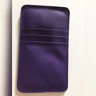 Cellphone Sleeve Violet Purple