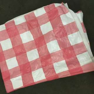 Picnic Tablecloth / Ground Sheet If Reversed