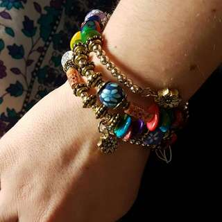 WRAP BRACELET WITH TAG NEW
