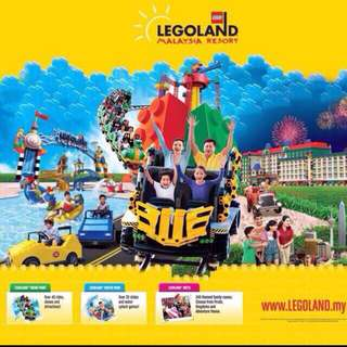 Open Dated Legoland Themepark Waterpark Combo Tickets
