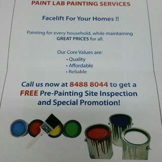 Paintlab Painting Services / House Painting