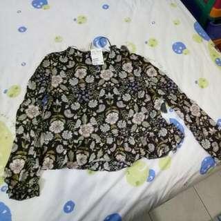 Kaos Lengan Panjang H&M Original