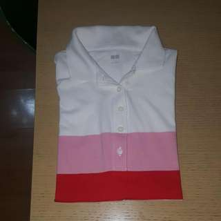 BNWOT Uniqlo Poloshirt 100% Cotton Free Sf Within MM