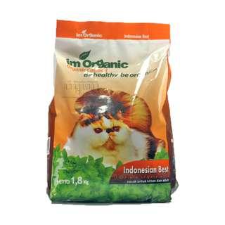IM Organic Indonesian Best Cat Food Makanan Kucing IMO IBEST 1,8 Kg