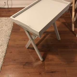 IKEA Maryd Tray Table, Grey