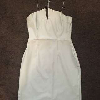 Baby Blue Missguided Boutique Strappy Dress Size 10